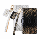 Real Skin Python Natural Leather Cell Phone Case